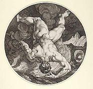Tantalus by HGoltzius CCornelius 1588