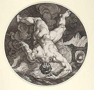 Tantalus - Image: Tantalus by H Goltzius C Cornelius 1588