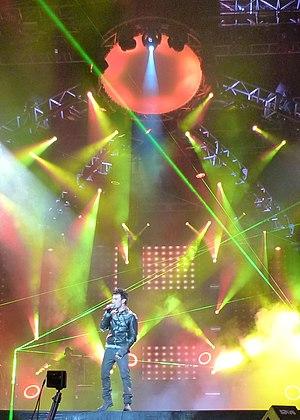 Tarkan (singer) - Tarkan in Istanbul, 2010