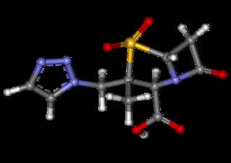 Tazobactam - Image: Tazobactam ball and stick