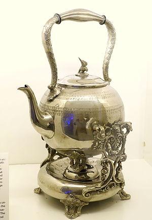 Britannia metal - Teapot, Britannia metal