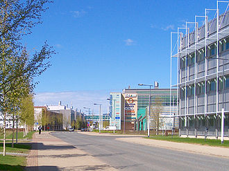 Technopolis Linnanmaa is home to nearly 200 corporations. Technopolis.jpg