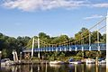 Teddington Lock Bridge - panoramio.jpg