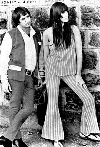 Cher - 1960s publicity photo of Sonny & Cher