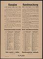 Teilweise Nachregelung des Brot- und Mehlverkaufes - Kundmachung - Laibach - Mehrsprachiges Plakat 1917.jpg