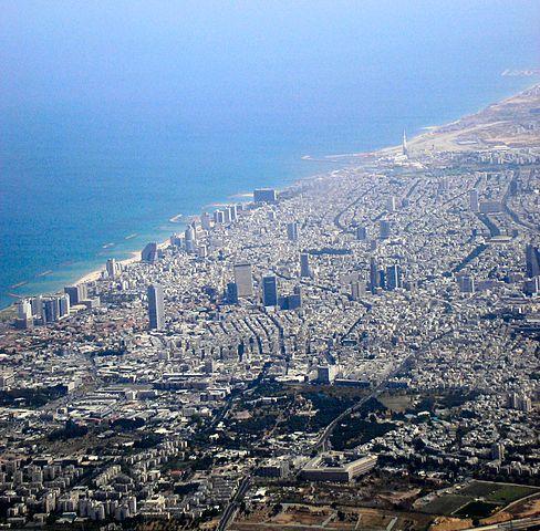 Tel Aviv By Deror avi (Own work) [Attribution], via Wikimedia Commons