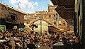 Telemaco Signorini, Mercato Vecchio a Firenze 1882-83 39x65,5 cm.jpg