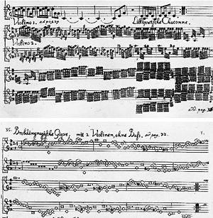Eye music - Image: Telemann Gulliver Suite