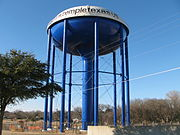 TempleTexas.us Water Tower