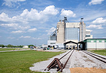 The feed mill at Tennessee Farmers Cooperative's LaVergne headquarters manufactures feed products for a wide variety of animals.