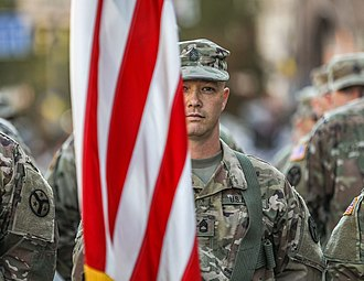 Tennessee Army National Guard - Image: Tennessee Army National Guard participates in the Ukrainian Independence Day parade Aug. 24, 2018 (29366942997)