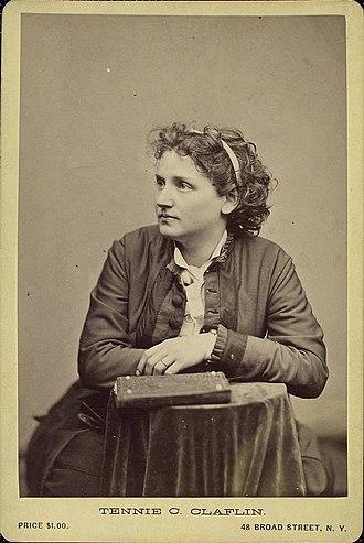 Tennessee Celeste Claflin - Tennessee Celeste Claflin