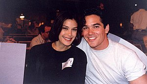 Teri Hatcher - Hatcher with Dean Cain at the 45th Primetime Emmy Awards