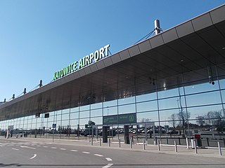 airport serving the Silesian Metropolis, located in Pyrzowice