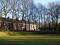 Terrace in Moss Side from Alexandra Park.JPG