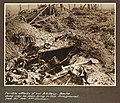 Terrible effects of our Artillery.Boche dead may be seen lying in the foreground. Sept 20 1918. 4th Division (3007145661).jpg