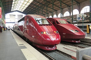 Thalys - Image: Thalys trains