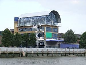 Rogers Stirk Harbour + Partners - The previous head office at Thames Wharf Studios, Hammersmith