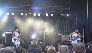 The 5.6.7.8's in concert in Lille, May 2004