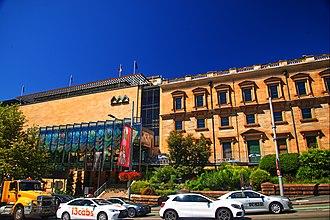 Australian Museum - The Australian Museum along William Street