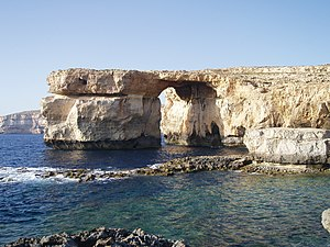 Azure Window - Image: The Azure Window, Dwejra Bay, Gozo