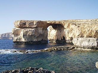 Azure Window - Image: The Azure Window, Dwejra Bay, Gozo