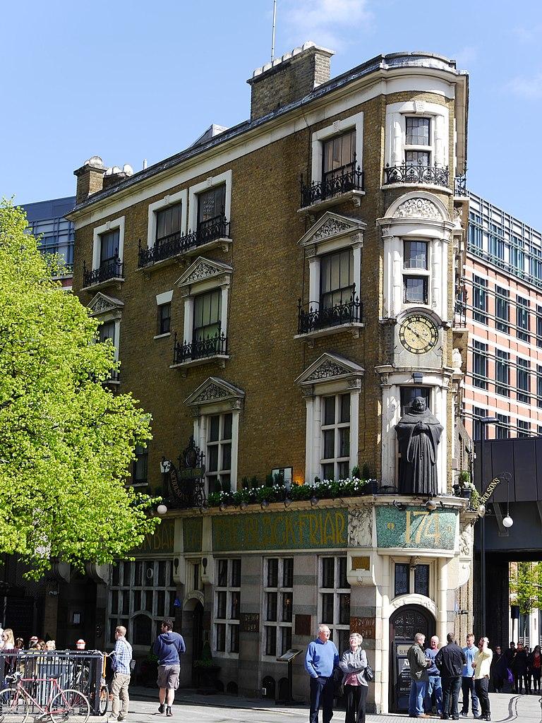 The Black Friar, pub
