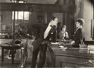 Louis Calhern - Louis Calhern and Claire Windsor in The Blot (Lois Weber Productions, 1921).