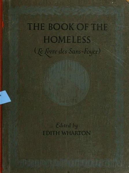File:The Book of the Homeless (New York, Charles Scribner's Sons, 1916).djvu