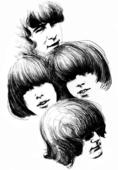 Promoteringsteikning av The Byrds frå 1967