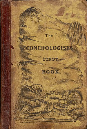 The Conchologist's First Book - Cover for the first edition