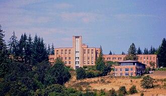 The Delphian School - Image: The Delphian School in Sheridan, Oregon