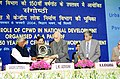 """The Deputy Prime Minister Shri L.K. Advani at a Seminar on """"Role of CPWD in National Development"""", organised as a part of celebration of 150 years of CPWD, in New Delhi on January 6, 2004.jpg"""