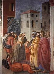 The Distribution of Alms and Death of Ananias