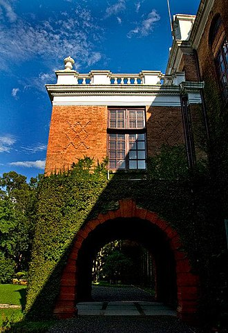 The Doon School - The ivy-clad 'Main Building'
