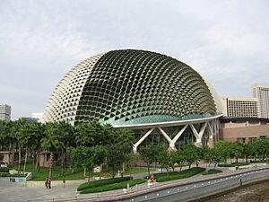 Singapore Symphony Orchestra - Esplanade, main performance venue for SSO since 2003