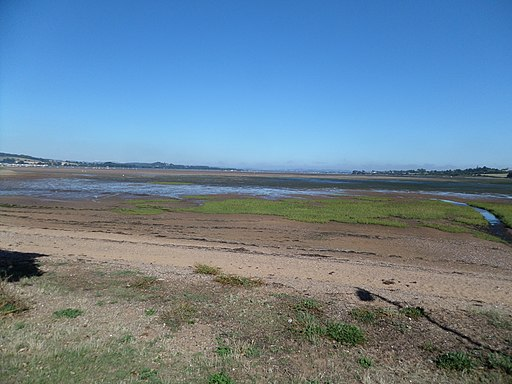 The Exe Estuary from Exmouth, South Devon