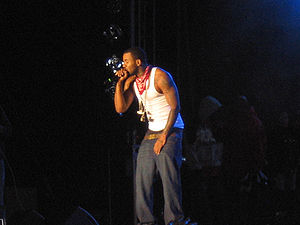 The Game (rapper) - Game performing at the 2007 Hip Hop Jam festival in the Czech Republic