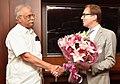 The German Minister of Transport and Digital Infrastructure, Mr. Alexander Dobrindt meeting the Union Minister for Civil Aviation, Shri Ashok Gajapathi Raju Pusapati, in New Delhi on October 13, 2016.jpg