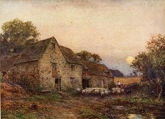 Ernest Waterlow - The Harvest Moon by Ernest Albert Waterlow