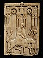 The Journey to Bethlehem, about 110-1120 AD, South Italian, Amalfi, ivory - Cleveland Museum of Art - DSC08614.JPG