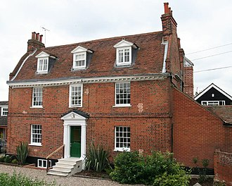 The Brick House, Great Warley - The Brick House now called The Kilns Hotel.