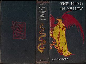 The King in Yellow - Cover of an 1895 edition