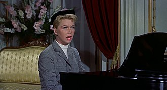 Que Sera, Sera (Whatever Will Be, Will Be) - Image: The Man Who Knew Too Much trailer screenshot Doris Day Que Sera, Sera