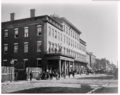 The Mansion House Hotel served as a hospital during the occupation of Alexandria, Virginia by Union forces, during the Civil War.png