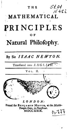 The Mathematical Principles of Natural Philosophy - 1729 - Volume 2.djvu