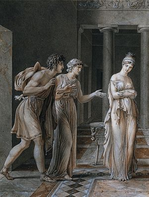 Hermione (mythology) - The Meeting of Orestes and Hermione