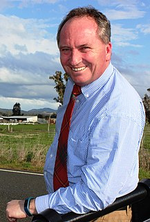 Barnaby Joyce Australian politician