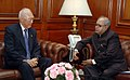 The Minister Mentor of the Republic of Singapore, Mr. Lee Kuan Yew meeting with the Union Minister of External Affairs, Shri Pranab Mukherjee, in New Delhi on November 02, 2007.jpg