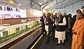 The Prime Minister, Shri Narendra Modi at the inauguration of the UP Investors Summit 2018, in Lucknow, Uttar Pradesh on February 21, 2018 (2).jpg